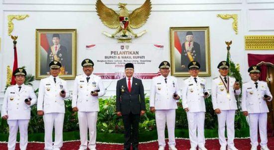 Foto Bersama Gubernur dan Bupati